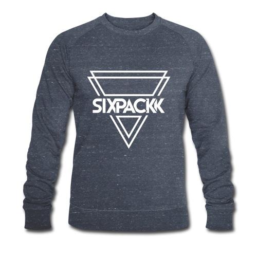 Sixpackk Logo Triangle - Männer Bio-Sweatshirt von Stanley & Stella