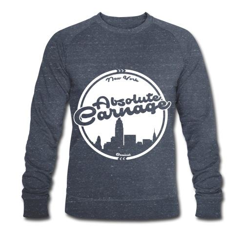 Absolute Carnage - White - Men's Organic Sweatshirt by Stanley & Stella