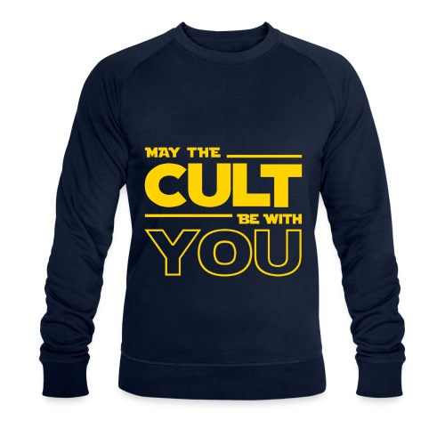 MAY THE CULT BE WITH YOU - Sudadera ecológica hombre de Stanley & Stella