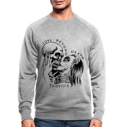 Love beyond Death Colourful - Männer Bio-Sweatshirt