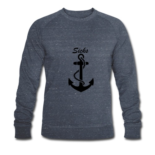 Sicks Logo Design - Männer Bio-Sweatshirt von Stanley & Stella