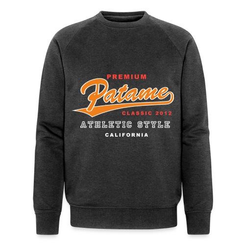 Patame Athletic Style Orange - Männer Bio-Sweatshirt von Stanley & Stella