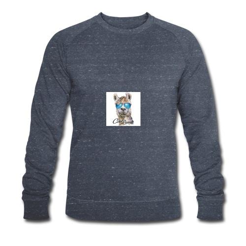 Cool Lama - Männer Bio-Sweatshirt von Stanley & Stella
