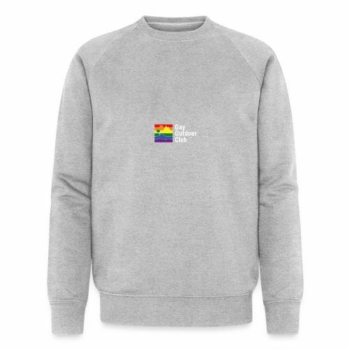 GOC Logo White Text - Men's Organic Sweatshirt
