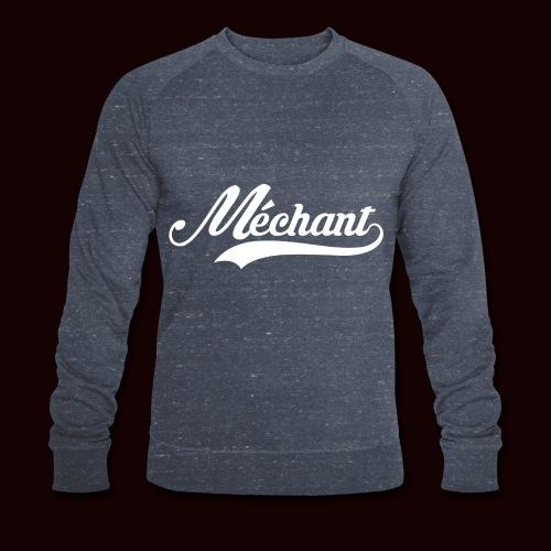 mechant_logo_white - Sweat-shirt bio Stanley & Stella Homme
