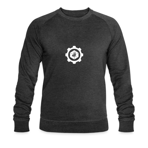Jebus Adventures Cog White - Men's Organic Sweatshirt by Stanley & Stella