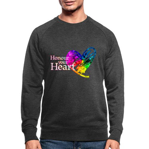 Honour Your Heart 2021 - Men's Organic Sweatshirt