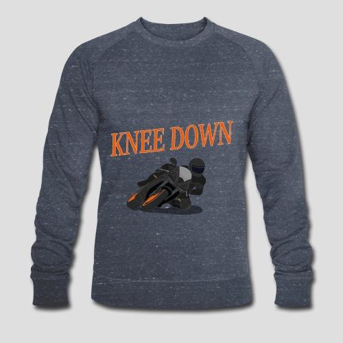 Knee Down - Motorrad | Biker - Männer Bio-Sweatshirt