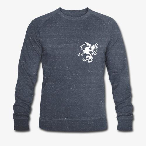 griffon blanc - Sweat-shirt bio Stanley & Stella Homme