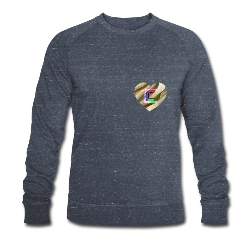 Chris could be crossed by colorful continous C's - Men's Organic Sweatshirt