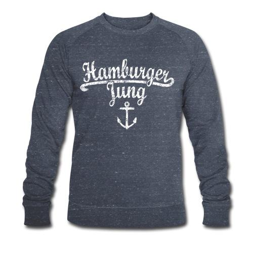 Hamburger Jung Klassik (Vintage Weiss) Hamburg - Männer Bio-Sweatshirt von Stanley & Stella