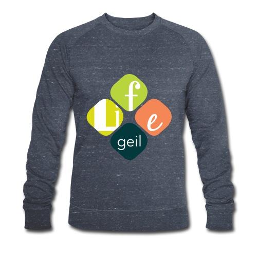 Lifegeil - Männer Bio-Sweatshirt von Stanley & Stella
