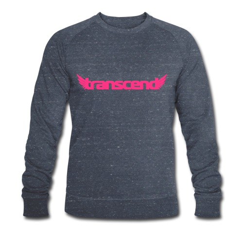 Transcend T-Shirt - Men's - Neon Yellow Print - Men's Organic Sweatshirt