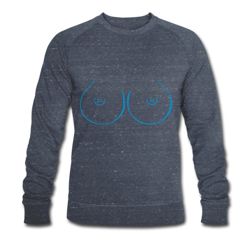 Boobies - Männer Bio-Sweatshirt von Stanley & Stella