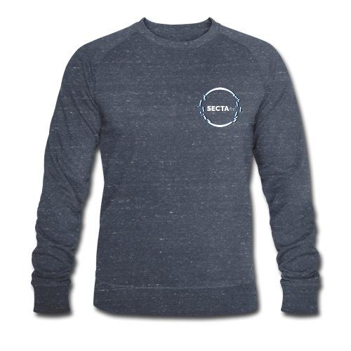 secta ring mit schriftzug - Männer Bio-Sweatshirt