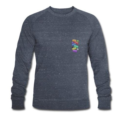 SA Mechanical Keyboard Keycaps Motif - Men's Organic Sweatshirt by Stanley & Stella