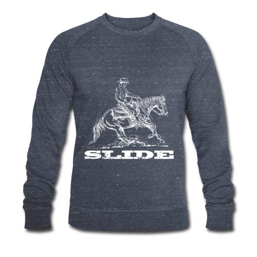 Sliding Stop Westernreiter Reining - Männer Bio-Sweatshirt von Stanley & Stella
