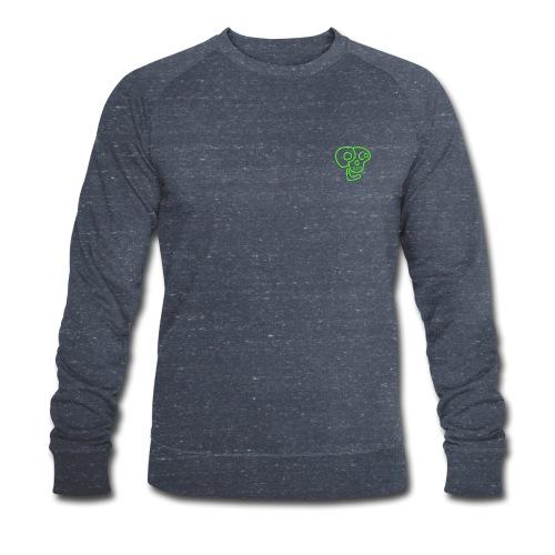 poco loco logo green - Men's Organic Sweatshirt by Stanley & Stella