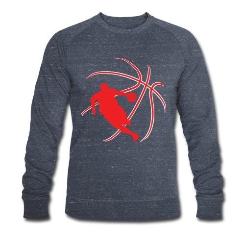 Basketball - Men's Organic Sweatshirt by Stanley & Stella