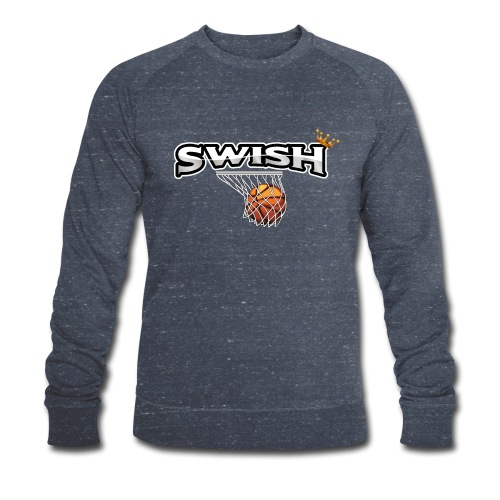 The king of swish - For basketball players - Men's Organic Sweatshirt by Stanley & Stella