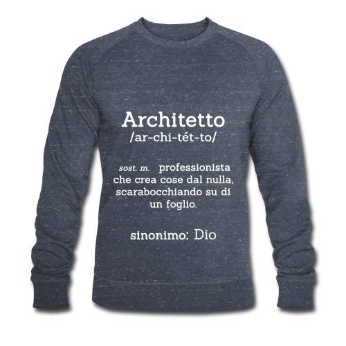 Architetto definizione - Sinonimo Dio - bianco - Felpa ecologica da uomo di Stanley & Stella