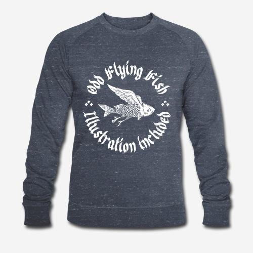 odd flying fish - Männer Bio-Sweatshirt von Stanley & Stella