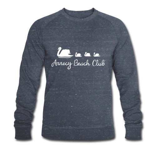 Annecy Beach club - Cygnes - Sweat-shirt bio Stanley & Stella Homme