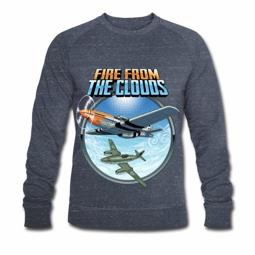Le feu des nuages - Sweat-shirt bio