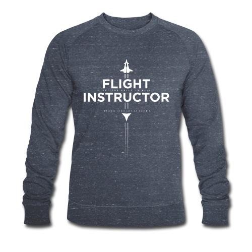 FlightInstructor white - Männer Bio-Sweatshirt