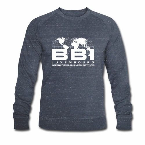 White Logo Collection - Men's Organic Sweatshirt by Stanley & Stella