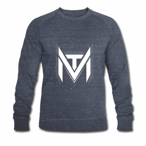 MadVexTV Logo Weiss - Männer Bio-Sweatshirt von Stanley & Stella