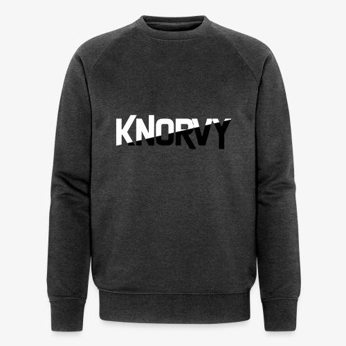 KNORVY - Mannen bio sweatshirt