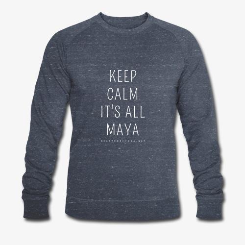 Heartcore Yoga 'It's All Maya 1' - Mannen bio sweatshirt van Stanley & Stella