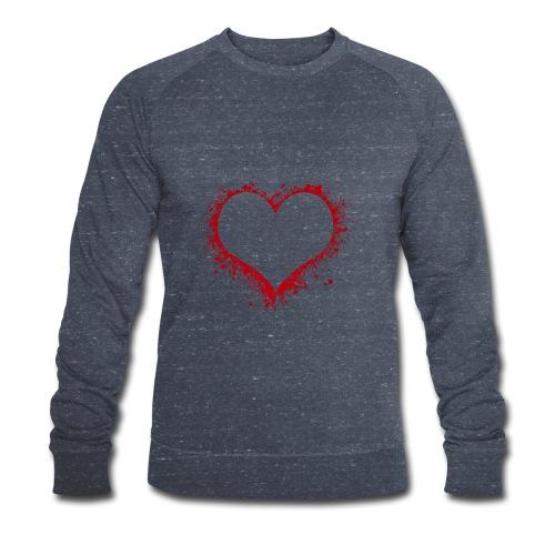 Herz/Heart - Männer Bio-Sweatshirt von Stanley & Stella