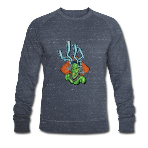 Frankie the monster - Men's Organic Sweatshirt by Stanley & Stella