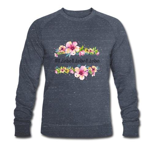 liebeliebeliebe - Männer Bio-Sweatshirt von Stanley & Stella