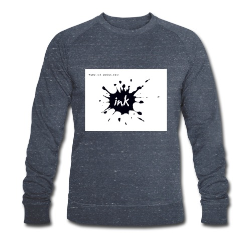 Ink Logo and website - Men's Organic Sweatshirt by Stanley & Stella