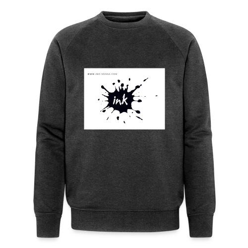 Ink Logo and website - Men's Organic Sweatshirt by Stanley & Stella