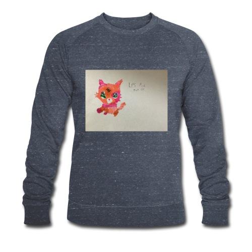 Little pet shop fox cat - Men's Organic Sweatshirt by Stanley & Stella