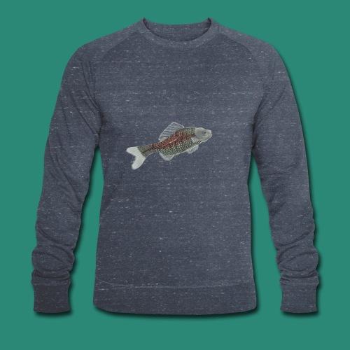 Der Fisch ist bunt - Männer Bio-Sweatshirt von Stanley & Stella