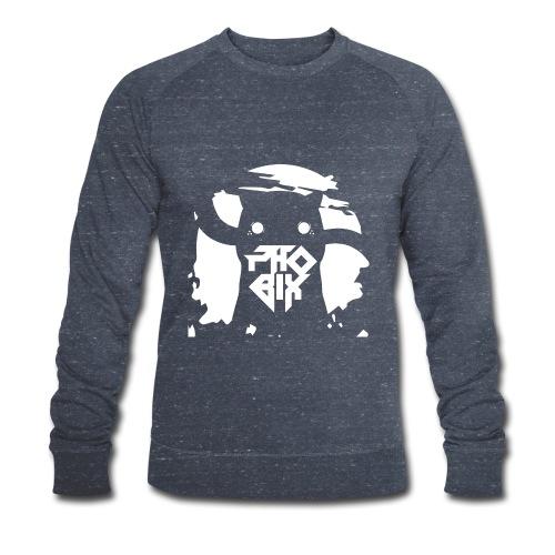 white 01big png - Männer Bio-Sweatshirt von Stanley & Stella