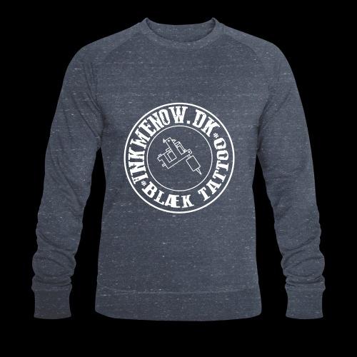 logo hvid png - Økologisk sweatshirt til herrer