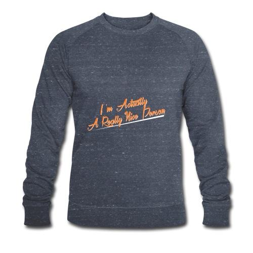 nice-person - Men's Organic Sweatshirt by Stanley & Stella