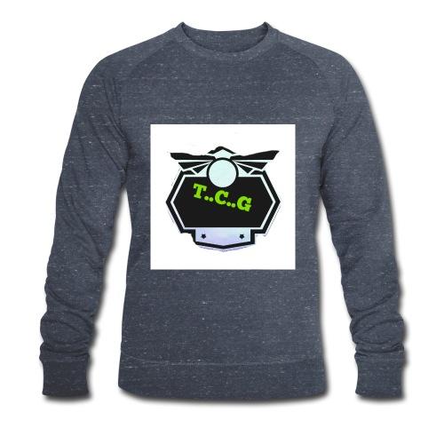 Cool gamer logo - Men's Organic Sweatshirt