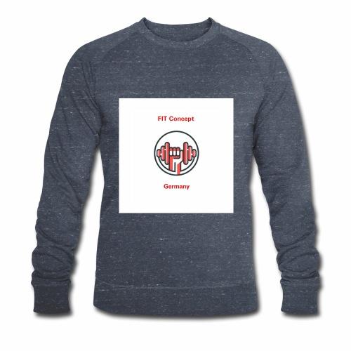 FIT Concept Germany Logo+Beschriftung - Männer Bio-Sweatshirt von Stanley & Stella