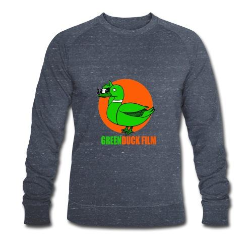 Greenduck Film Orange Sun Logo - Økologisk Stanley & Stella sweatshirt til herrer