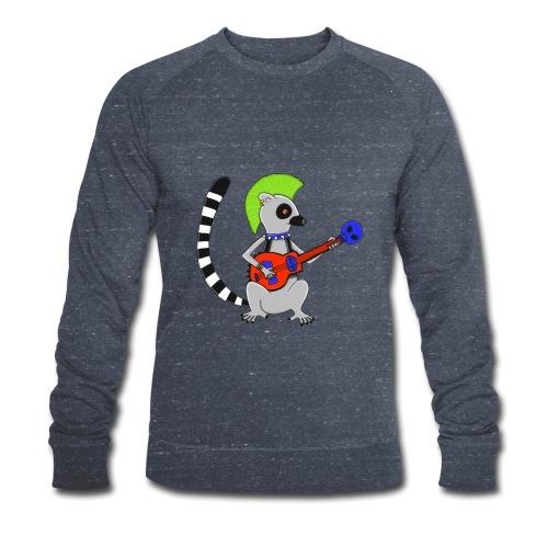 Katta-Punk - Männer Bio-Sweatshirt von Stanley & Stella