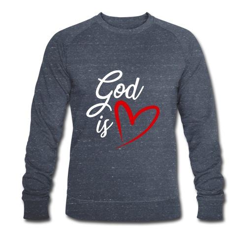 God is love 2B - Felpa ecologica da uomo di Stanley & Stella