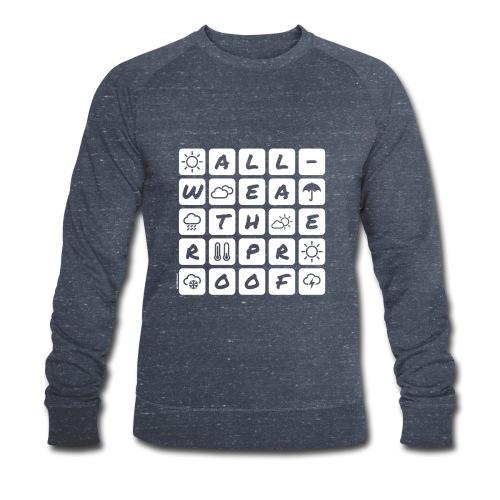 Outdoor - all-weather proof / white-on-black - Männer Bio-Sweatshirt von Stanley & Stella