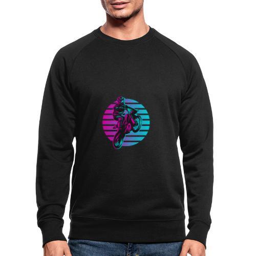 Motocross 2 colour - Männer Bio-Sweatshirt